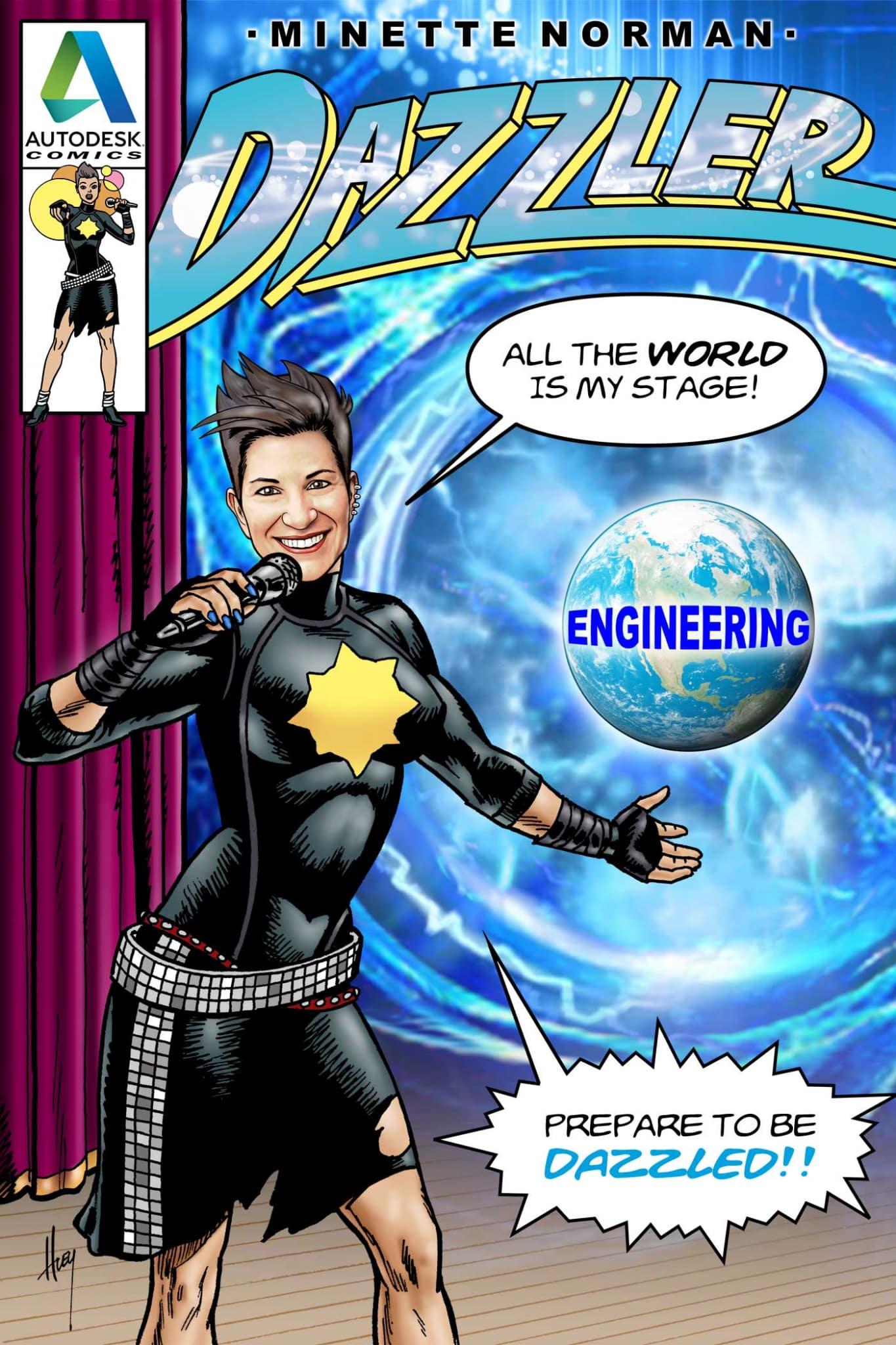 KH3432DZ-dazzler-on-stage-superhero-comic