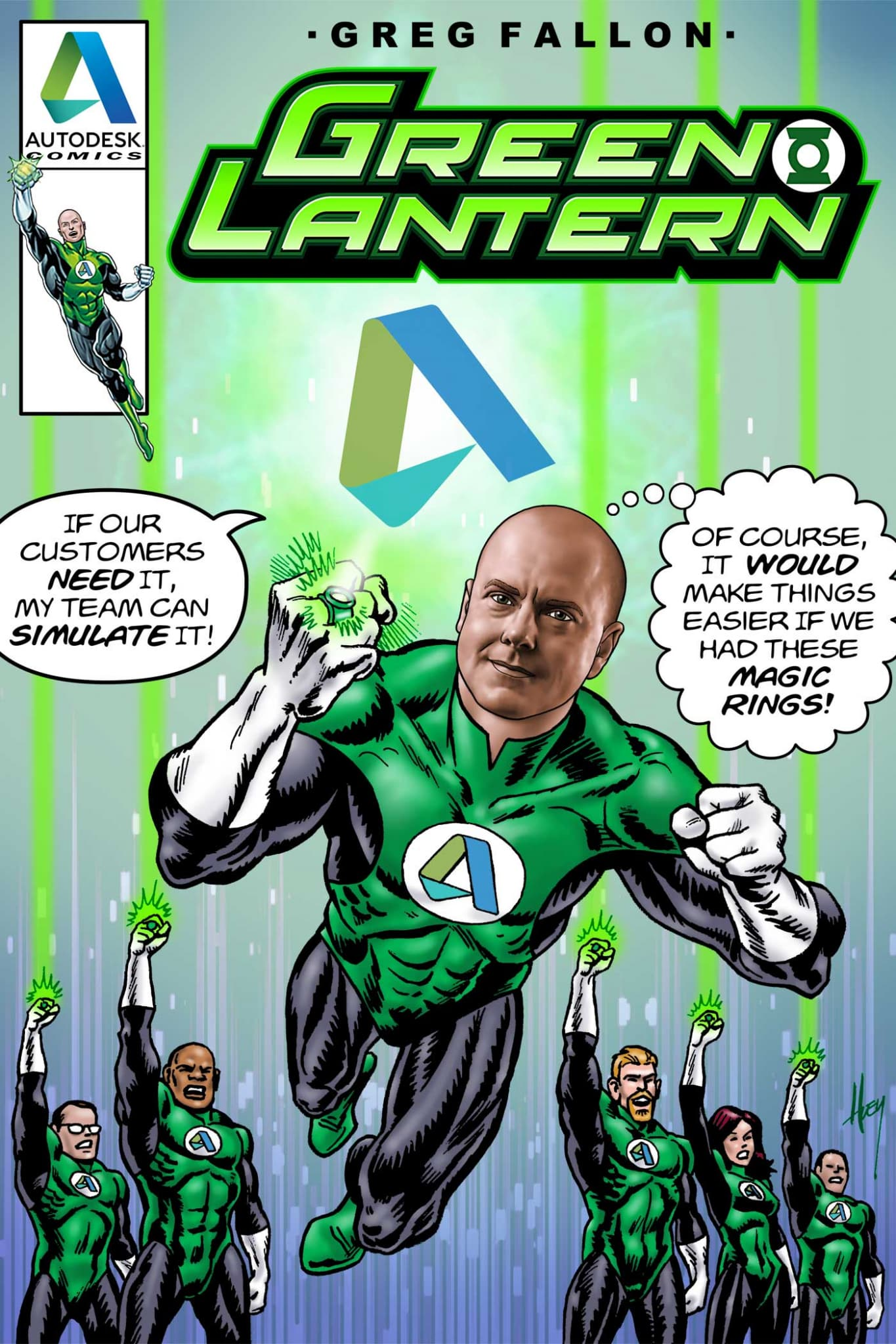 KH3432GL-green-lantern-flying-superhero-comic