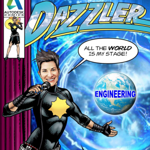 KH3432DZ-dazzler-on-stage-superhero-comic