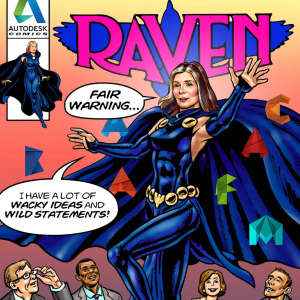 KH3432RA-raven-office-superhero-comic