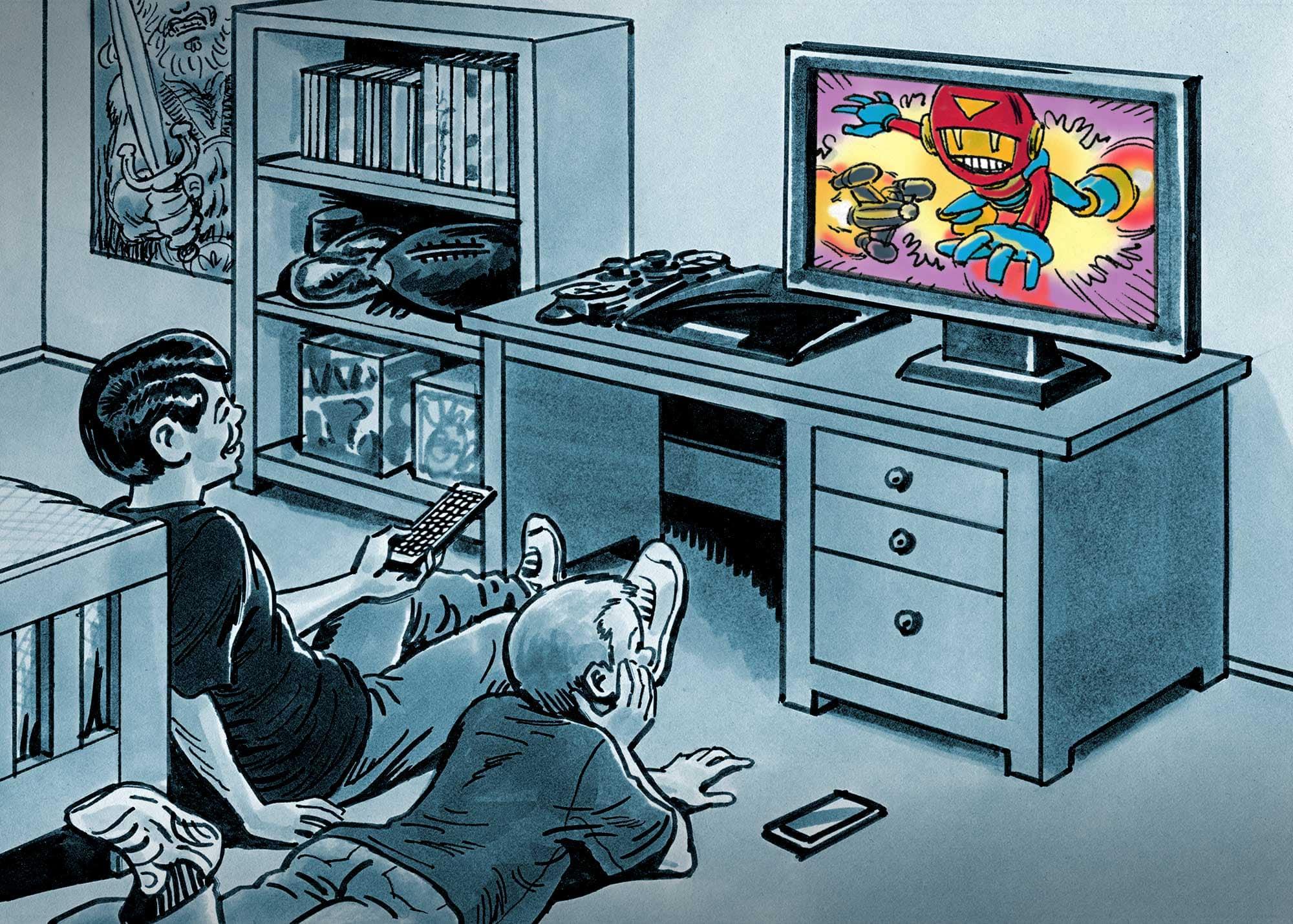 KH3011-6-kids-bedroom-tv